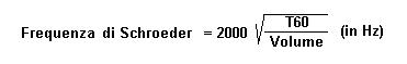 Frequenza di Schroeder
